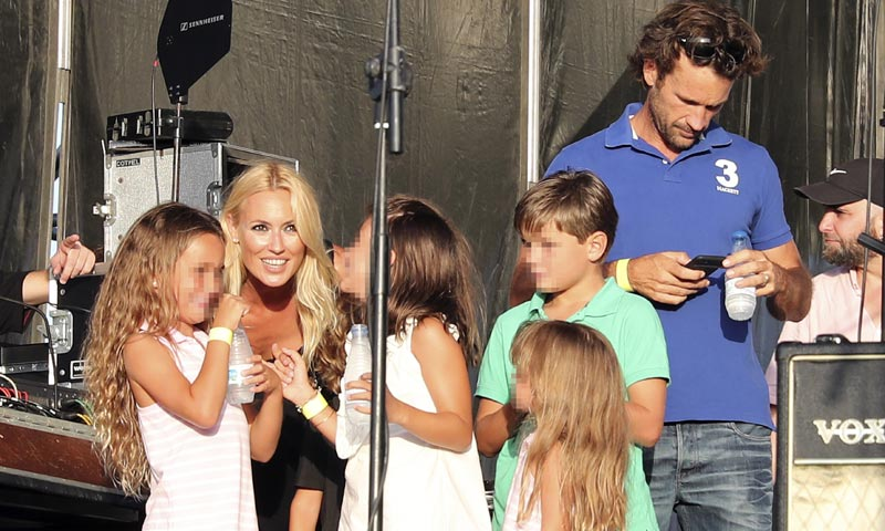 Carlos Moyá y sus hijos, la visita sorpresa de los fans más incondicionales de Carolina Cerezuela