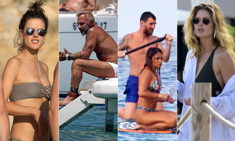 Las 'celebrities' internacionales desembarcan en Baleares para sus vacaciones