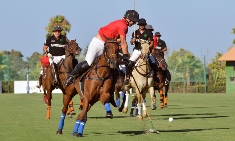 Arranca el Torneo Internacional de Polo, gran emblema de Sotogrande