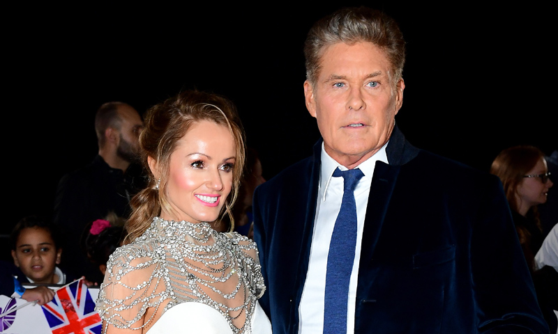 Así es Hayley Roberts, la británica de 38 años con la que se ha casado David Hasselhoff