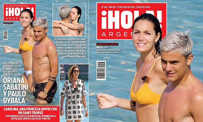 El noviazgo del que más se habla en Argentina: el futbolista Dybala y la hija de Catherine Fulop