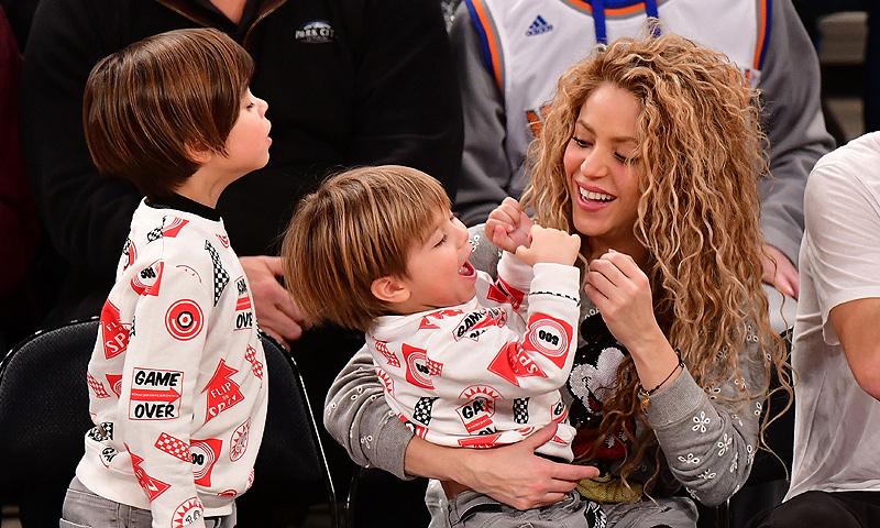Los hijos de Shakira y Piqué, dos simpáticos 'mini rockeros'