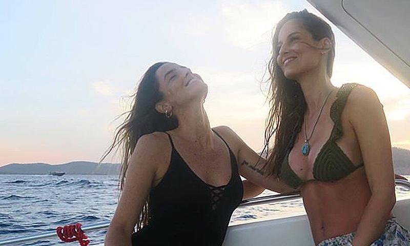 La increíble fiesta sorpresa que Ariadne Artiles organizó a su hermana Aida por su 30 cumpleaños