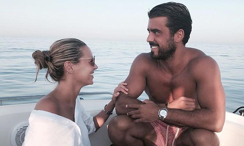 Claudia Ortiz y Daniel Arigita presumen de amor en las redes sociales