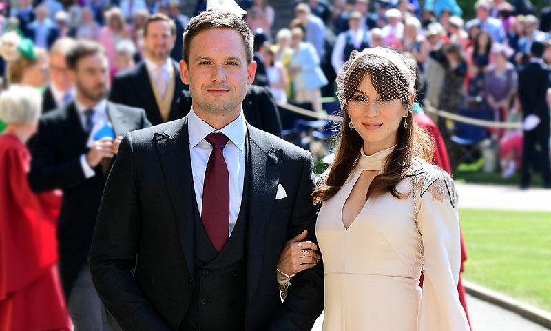 Troian Bellisario y Patrick J Adams, marido en la ficción de Meghan Markle, esperan su primer hijo