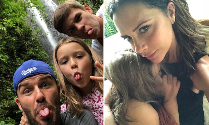 Tras el susto, los Beckham comparten las imágenes más idílicas de sus vacaciones en Bali