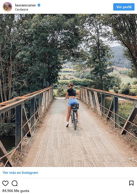 laura escanes en bici