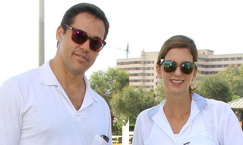 Luis Alfonso de Borbón y Margarita Vargas, vacaciones familiares en Sotogrande tras anunciar que esperan su cuarto hijo