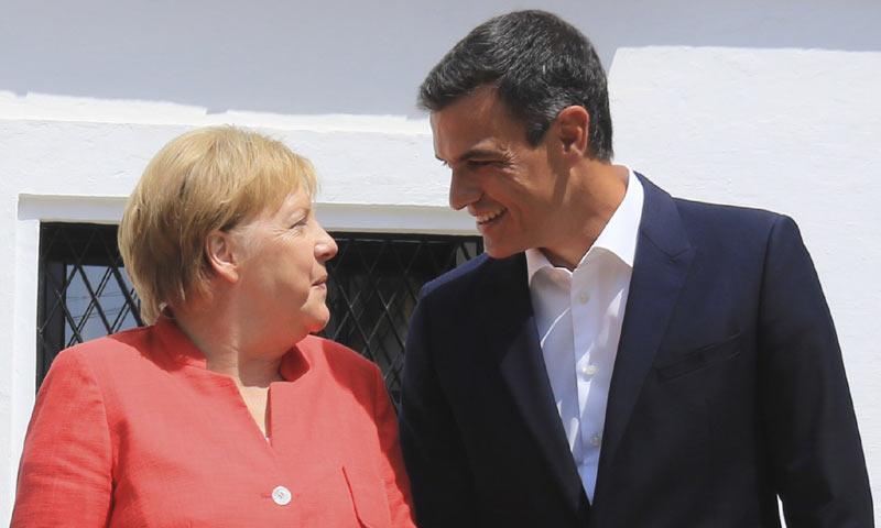 El maître que sirvió el almuerzo de Pedro Sánchez y Angela Merkel nos cuenta el menú y las anécdotas