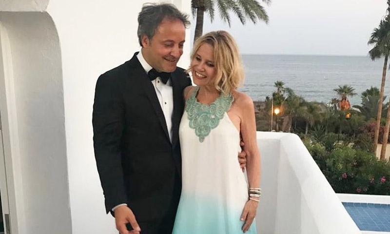 La romántica imagen y declaración de amor de Eugenia Martínez de Irujo a Narcís Rebollo