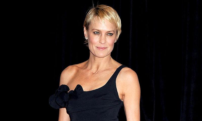 ¡Robin Wright, actriz de 'House of Cards', se casa en secreto! Así fue su boda con Clément Giraudet