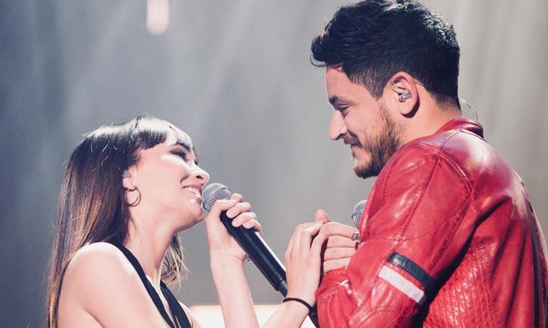 Aitana y Cepeda cantan el tema que les unió como nunca lo habían hecho