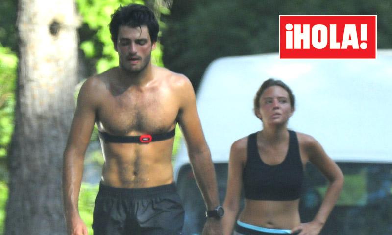 EXCLUSIVA: Carlos Sainz Jr, el mejor compañero de 'running' de su novia, Isabel Hernáez
