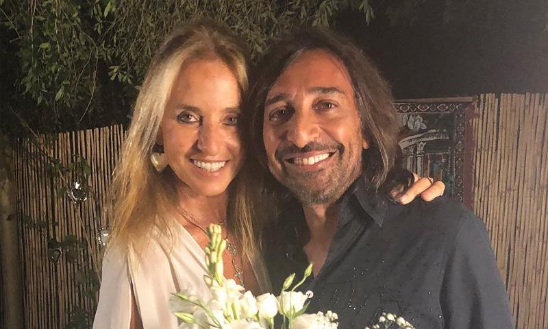 La improvisada fiesta de Antonio Carmona y Mariola Orellana por sus bodas de plata