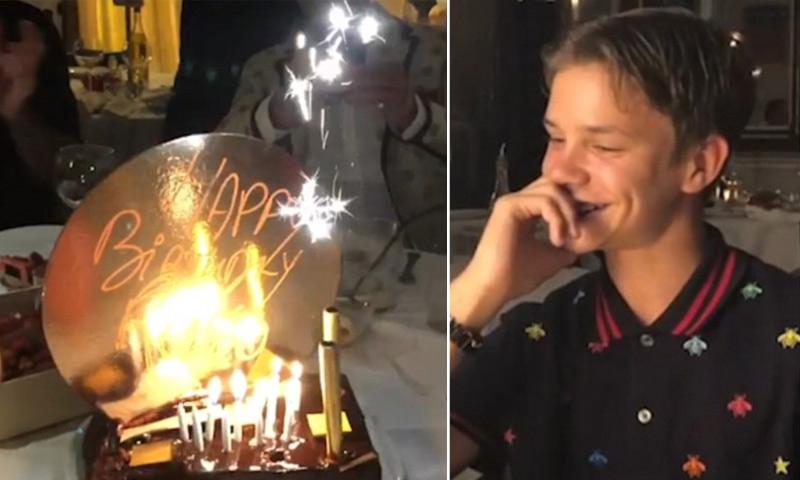 Los Beckham celebran el cumpleaños de su hijo Romeo con unos invitados muy especiales