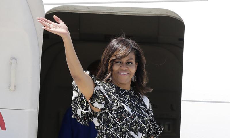 PRIMICIA: Michelle Obama se despide de Mallorca... pero regresará a España en otoño