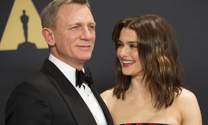 Rachel Weisz y Daniel Craig se convierten en padres por primera vez