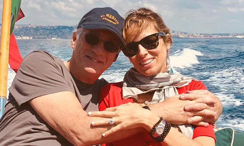 Alejandra y Richard Gere celebran el cumpleaños del actor a la espera del nacimiento de su primer hijo