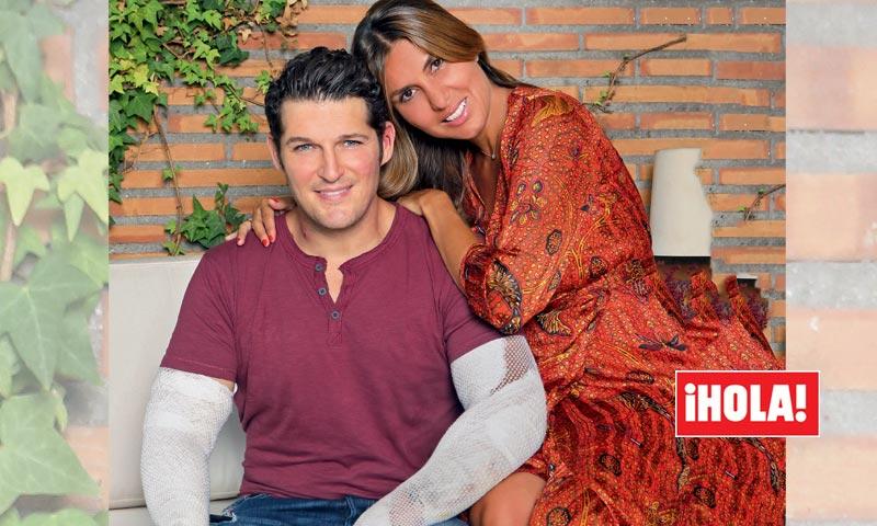 Exclusiva en ¡HOLA!, Manu Tenorio desvela cómo ocurrió el terrible accidente que casi le cuesta la vida