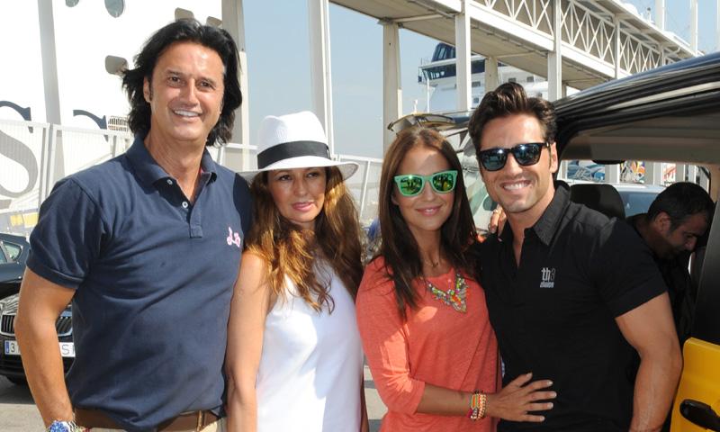 Poty Castillo explica cómo es su relación actual con David Bustamante y Paula Echevarría