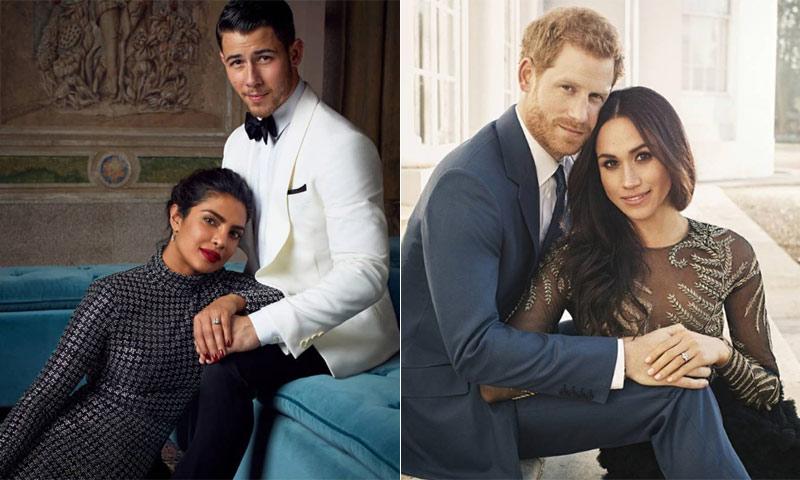 Priyanka Chopra y Nick Jonas se inspiran en los Duques de Sussex en su último posado