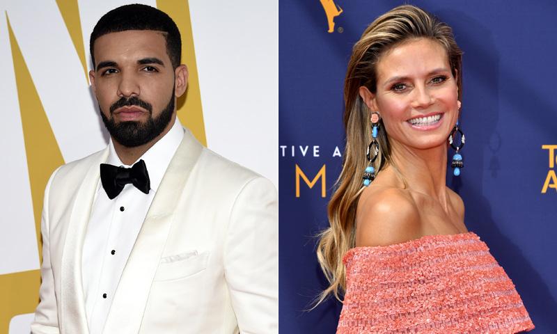 Drake le pidió salir a Heidi Klum por SMS y ella... le ignoró