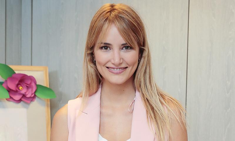 Alba Carrillo presenta al nuevo miembro de su familia