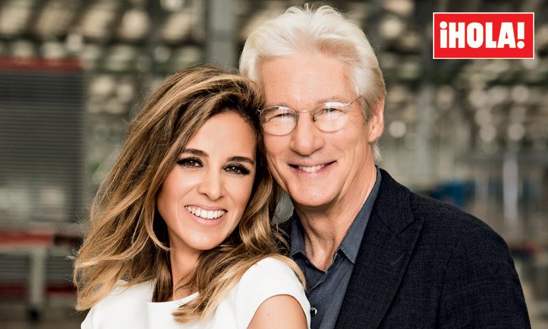 De esta bonita manera Richard y Alejandra Gere confirman que están esperando su primer hijo
