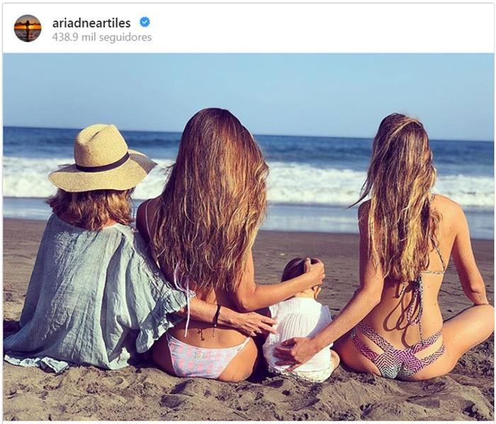 Ariadne artiles y su foto de familia m s bonita for Ariadne artiles y su pareja