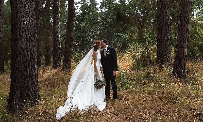 María Castro y José Manuel Villalba ponen fin a sus tres días de boda en las Islas Cíes