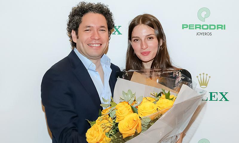 María Valverde, fan número uno de su marido, Gustavo Dudamel