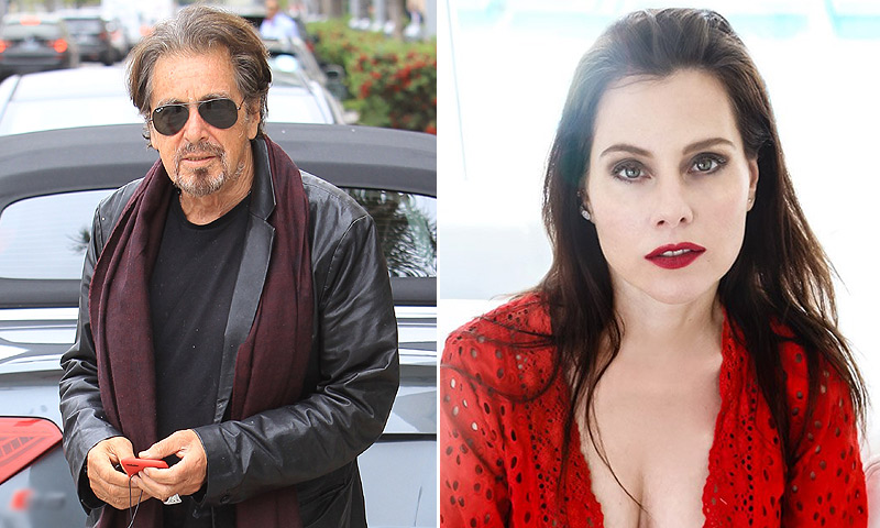 Al Pacino, ¿enamorado de esta actriz y cantante israelí de 39 años?