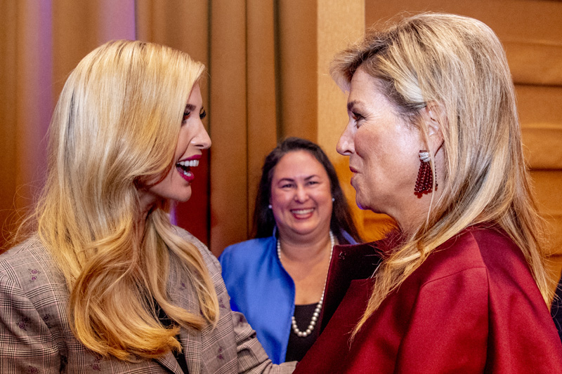Ivanka Trump encuentra en Máxima de Holanda su nueva inspiración