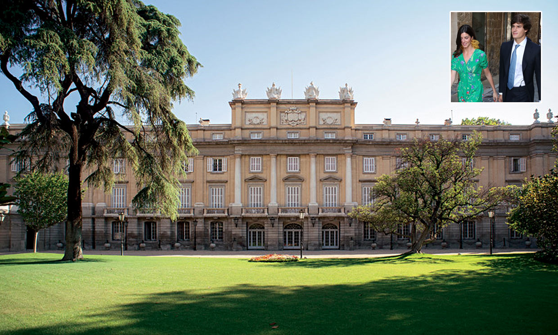 Abrimos las puertas de Liria horas antes de la boda de Carlos Fitz-James Stuart y Belén Corsini