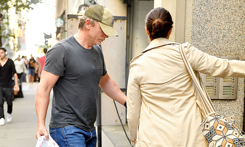 Primeras imágenes de Daniel Craig y Rachel Weisz con su bebé