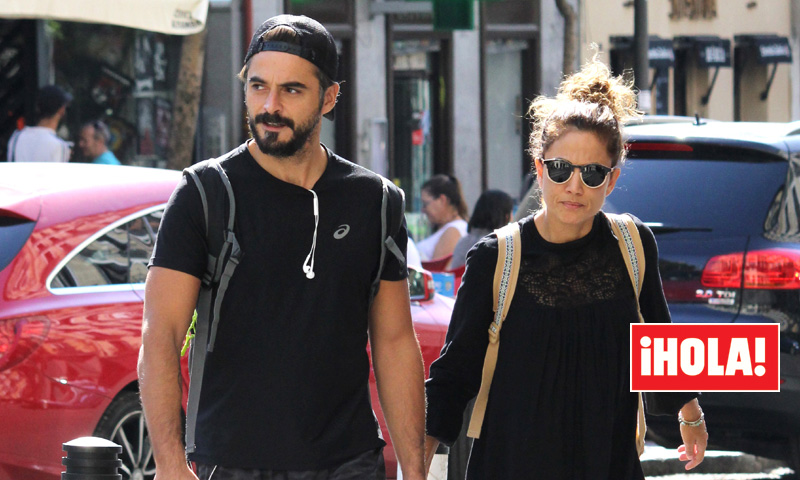 EXCLUSIVA: Toni Acosta y Sergio Bethancourt, muy cómplices por las calles de Madrid