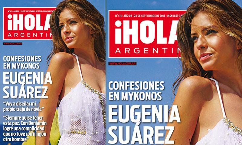 Eugenia 'China' Suárez, ex de David Bisbal, espectacular en ¡HOLA! Argentina