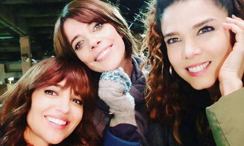 Paula Echevarría, Juana Acosta y Maribel Verdú entran en la casa de 'Gran Hermano VIP'
