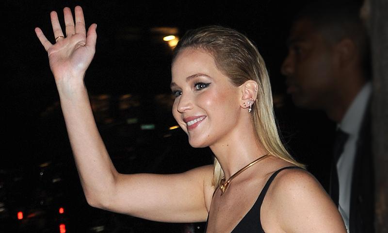 Jennifer Lawrence, noche de coincidencias con dos de sus ex y su nuevo amor