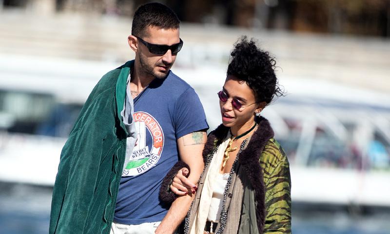Shia LaBeouf recupera la ilusión con la ex de Robert Pattinson