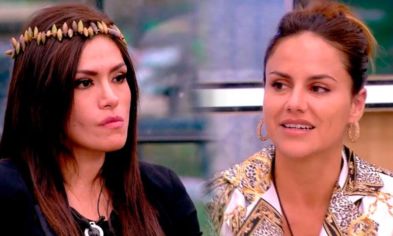 Jorge Javier Vázquez ejerce de mediador entre Miriam Saavedra y Mónica Hoyos en 'Gran Hermano VIP'
