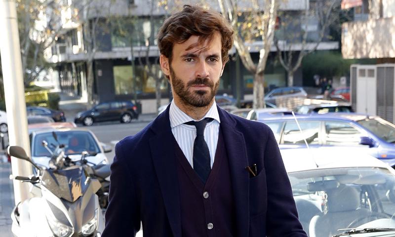 El chaqué que llevará Enrique Solís en la boda de su primo, el Duque de Huéscar, lleva el sello de Jaime de Marichalar
