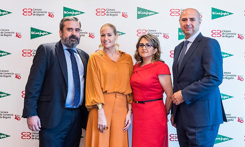 'Bogotá marcando estilo', el nuevo proyecto de El Corte Inglés y la Cámara de Comercio de Bogotá para promover la gastronomía y la moda colombianas