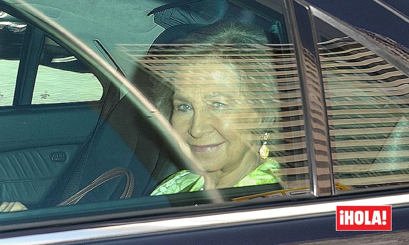 FOTOS EXCLUSIVAS: Doña Sofía representa a la Casa Real en la boda del futuro Duque de Alba