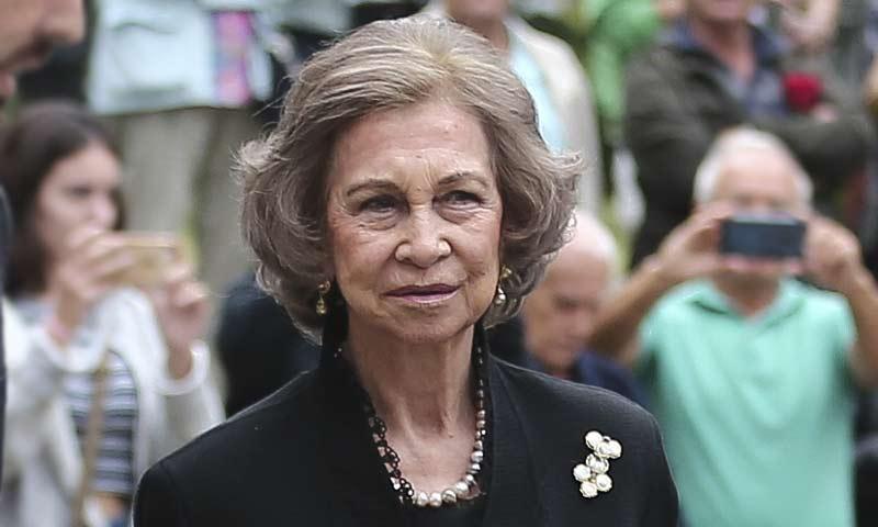 Doña Sofía acude al último adiós a Montserrat Caballé junto a otras personalidades de la cultura y la política