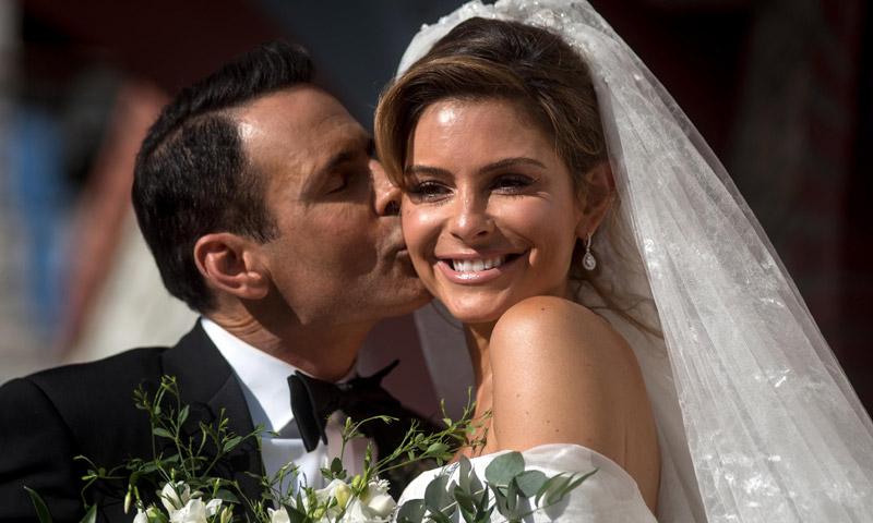 Fotogalería: La gran boda griega de la actriz y presentadora María Menounos