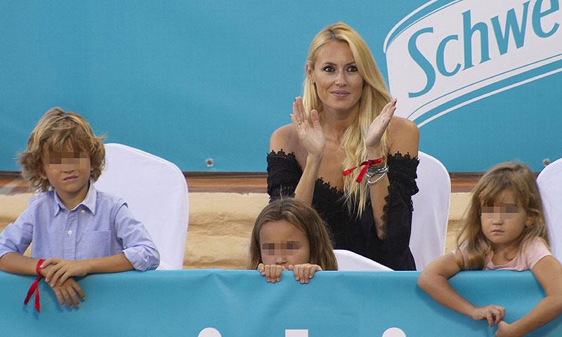 ¡Cómo han crecido! Los hijos de Carolina Cerezuela y Carlos Moyá en el tenis