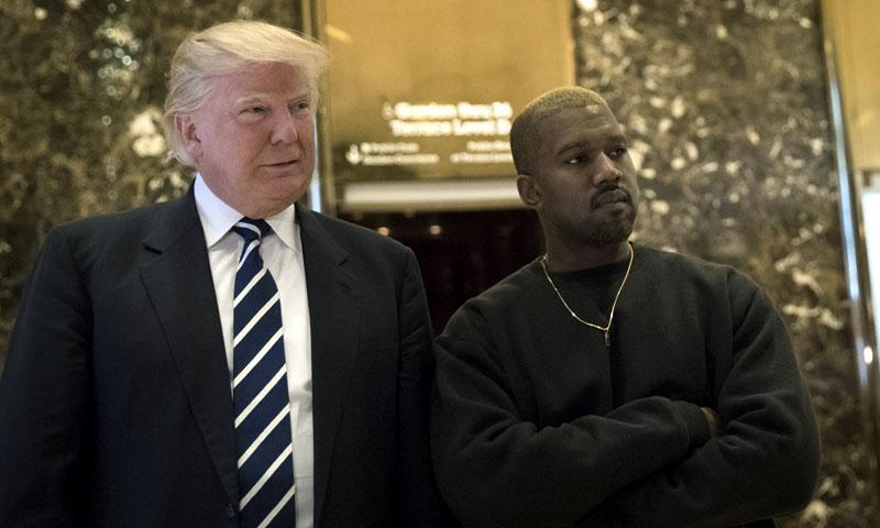 El almuerzo en la Casa Blanca de Donald Trump y Kanye West