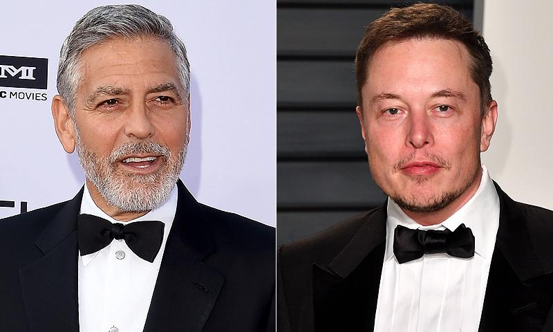 ¿Habrá mercado para ambos? Elon Musk quiere hacerle la competencia a George Clooney