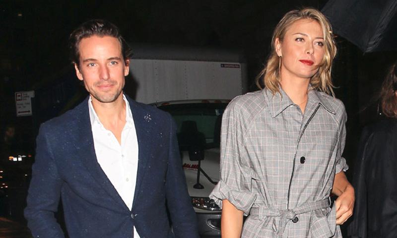 Maria Sharapova confirma su noviazgo con el millonario Alexander Gilkes, íntimo amigo de los príncipes Guillermo y Harry
